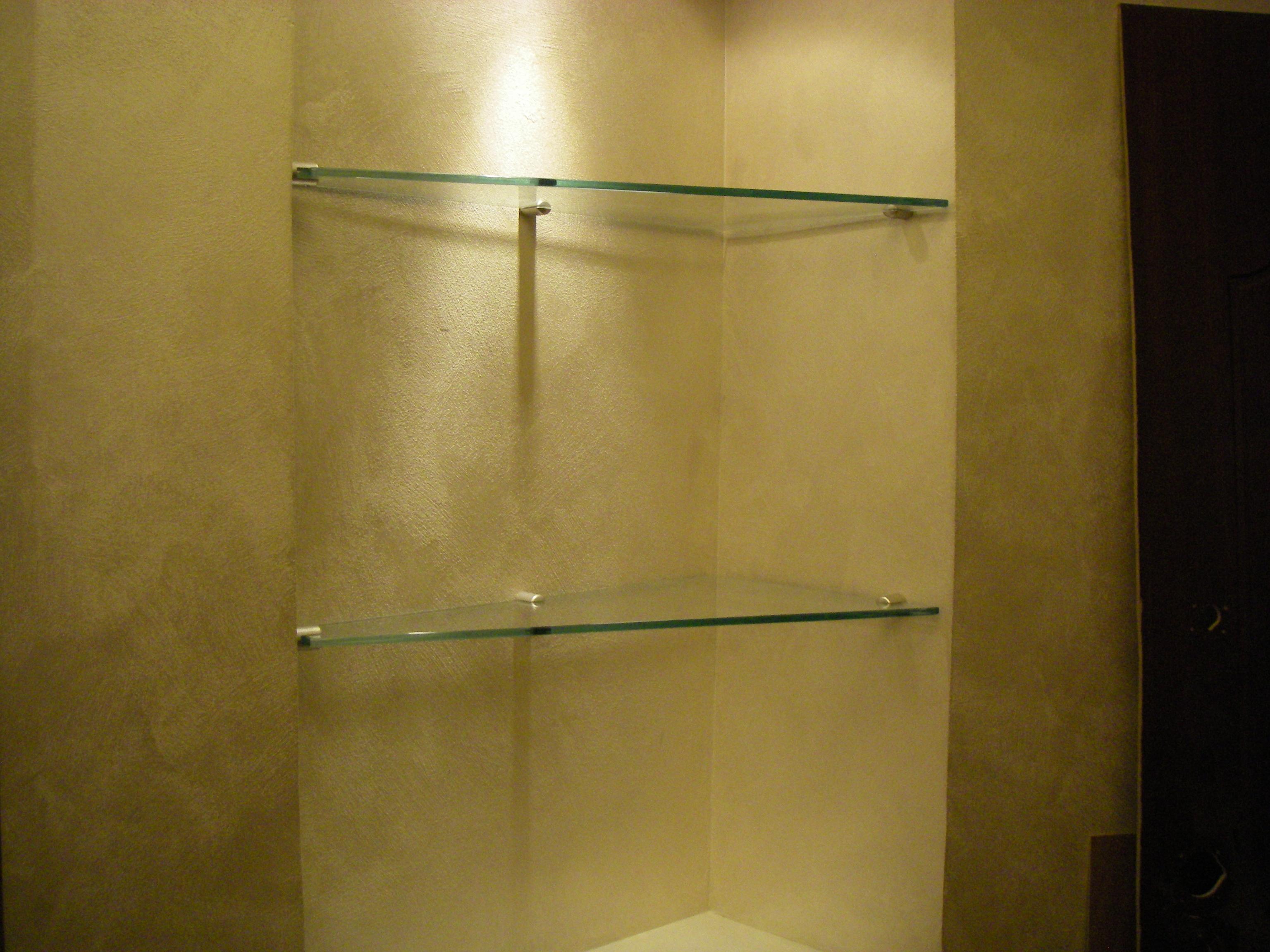 стеклянные полки