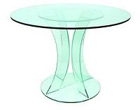 круглый стол на ультрафиолетовой склейке