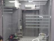 стеклянная перегородка зона тамбура