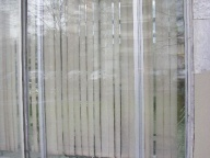 Стеклянная витрина готовая